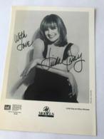 Linda Grey Actress Photo Autograph Hand Signed 12x17 Cm - Fotos Dedicadas