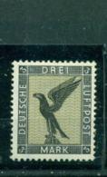 Deutsches Reich, Adler Flugpost, Nr. 384 Falz * - Gebraucht