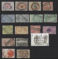 Y86 - Belgium - Railway Parcel Stamps - Used - Tubize - Bahnwesen