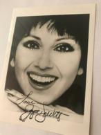 Joyce Dewitt Actress Photo Autograph Hand Signed 12x17 Cm - Fotos Dedicadas