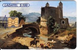 MEXICO - Paisaje Mexicano/Puente De Panzacola(5/6), Chip OB1, 05/00, Used - México