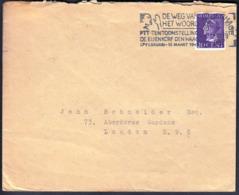 Netherlands Gravenhage 1919 / DE WEG HET WOORD, PTT-tentoonstelling / Slogam, Machine Stamp, Flamme - Marcofilia - EMA ( Maquina De Huellas A Franquear)
