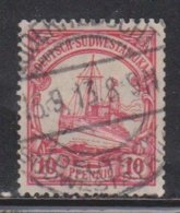 GERMAN SOUTH WEST AFRICA Scott # 28  Used - Colony: German South West Africa
