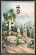 Souvenir: Tassin Adolphine -Zélie. Echtg. Duchesne. ° Grivegée (Liége) 1856 † Grivegnée 1891 (2 Scan's) - Religion &  Esoterik
