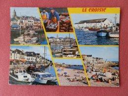 Dep 44 , Cpm Le CROISIC , 2185 , Le Port , La Criée Et Les Plages , Multivues (177) - Le Croisic