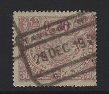 Y89 - Belgium - Railway Parcel Stamps - Used - Tavigny - Bahnwesen