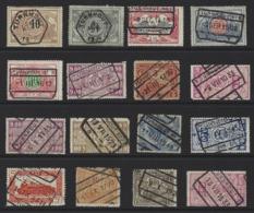 Y90 - Belgium - Railway Parcel Stamps - Used - Turnhout - Bahnwesen