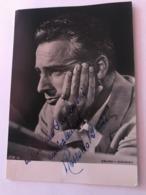 Rossano Brazzi Photo Hand Signed Inscribed 10 X 15 Cm - Fotos Dedicadas