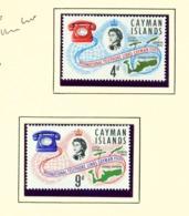 CAYMAN ISLANDS - 1966 Telephone Links Set Unmounted/Never Hinged Mint - Cayman Islands