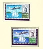CAYMAN ISLANDS - 1966 Jet Service Set Unmounted/Never Hinged Mint - Cayman Islands