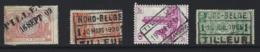 Y94 - Belgium - Railway Parcel Stamps - Used - Tilleur - Nord Belge - Ohne Zuordnung