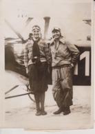 GERMAN ART FLYERS THEA RASCHE IN PARIS  OF HAMBURG KUNSTFLIEGERIN CHAMBERLIN LEVIN18*13 CM Fonds Victor FORBIN 1864-1947 - Aviación