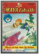 Maya L'abeille N°32 Maya Et Les Vers De Farine - Jeux Et Bandes Dessinées De 1979 - Magazines Et Périodiques