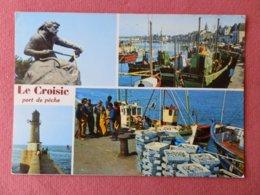 Dep 44 , Cpm Le CROISIC , Port De Peche , 44.601 , Multivues  (203) - Le Croisic
