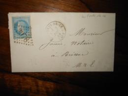 Lettre GC 2978 Les Ponts De Cé Maine Et Loire Avec Correspondance - 1849-1876: Classic Period