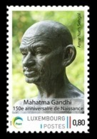 Luxembourg (Meng Post) 2019 No. 129 Mahatma Gandhi MNH ** - Lussemburgo