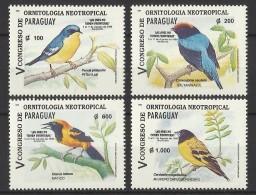 PARAGUAY  1995  BIRDS  SET  MNH - Non Classés
