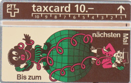 SWITZERLAND - Bis Zum Nächsten Mal ,02/93 ,CN:322L ,Tirage 1.000, 10 Fr, Used - Zwitserland
