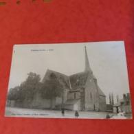 Cpa 72 Challes église - France