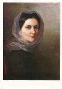 "RUSSIA - RUSSIE - RUSSLAND Kapkov ""Portrait Of Artist's Sister"" - Andere Beroemde Personen"