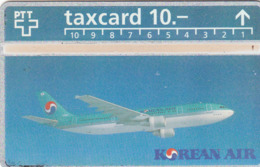 SWITZERLAND - Korean Air ,03/93 ,CN:303L ,Tirage 1.500, 10 Fr, Used - Zwitserland