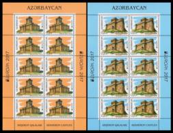 2017Azerbaijan 1193KL-94KLEurope CEPT - 2017