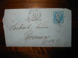 Lettre GC 2974 Pontoise Seine Et Oise - 1849-1876: Classic Period