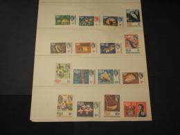 FIJI - 1968 PITTORICA16 VALORI - NUOVI(++) - Fiji (1970-...)