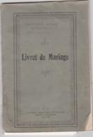 Commune De Malonne Livret De Mariage - Documentos Antiguos