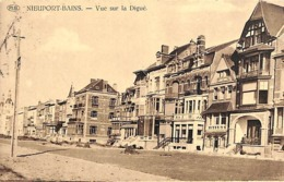 Nieuwpoort Nieuport Bains - Vue Sur La Digue (PIB 1927, Edit. Au Petit Bénéfice) - Nieuwpoort