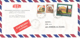 Italy Air Mail Cover Sent To Switzerland Gessate 12-2-1981 - Airmail