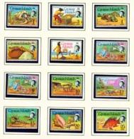 CAYMAN ISLANDS - 1974 Definitives Set Unmounted/Never Hinged Mint - Cayman Islands