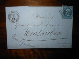 Lettre GC 2948 Pont L'Abbé Lambour Finistere Avec Correspondance - 1849-1876: Classic Period