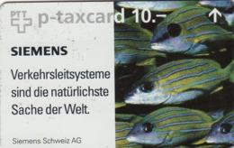 SWITZERLAND - Siemens Schweiz AG ,07/96 ,CN:607L ,Tirage 1.800, 10 Fr, Used - Suisse