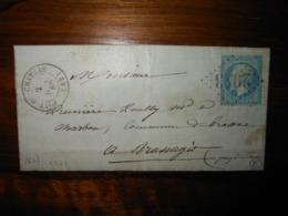 Lettre GC 2943 Pont Du Chateau Puy De Dome Avec Correspondance - 1849-1876: Classic Period