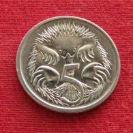 Australia 5 Cents 1996 KM# 80  Australie Australien - Australia