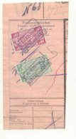 D540A -België  Spoorwegen  Nord Belge Op Fragment Stempel MARCHE LES DAMES  1 Nord Belge Weggesneden - Nord Belge