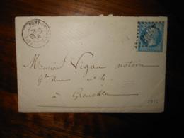 Enveloppe GC 2933 Pont De Claix Isere - 1849-1876: Classic Period