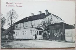 Estonia Hapsal Apotheke 1910 - Estonie