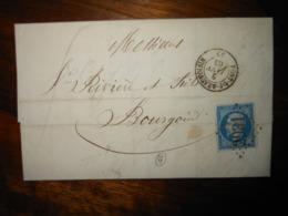 Lettre GC 2931 Pont De Beauvoisin Isere Avec Correspondance - 1849-1876: Classic Period