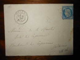 Enveloppe GC 2930 Pont D'Ain - 1849-1876: Classic Period