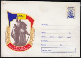 Romania / Monument, Anti-fascism, Veteran Soldiers / 55 Bani / Postal Stationery - Ganzsachen
