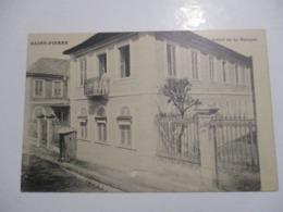 RARE CPA CPSM CP MARTINIQUE ANTILLES 972 SAINT-PIERRE V1915 - HÔTEL DE LA BANQUE - TBE NON CIRCULÉ - Autres