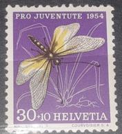 BUTTERFLIES Helvetia 1954, Mi 605, Mnh - Neufs