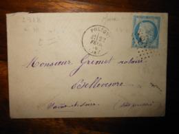Enveloppe GC 2918 Poligny Jura - 1849-1876: Classic Period