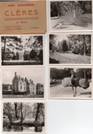 Clères (parc Zoologique) - Carnet De 10 Photos Dim 9 X 6 Cm (complet) - Places