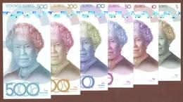 REDONDA ISLAND Set 6 Pcs 2019 Polymer UNC - Banknoten