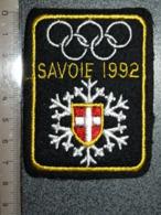 ECUSSON  TOURISTIQUE TISSUS  SAVOIE   1992 - Ecussons Tissu