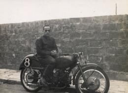 1954 , MOTOCICLISMO , MOTOCICLETA , MOTO , MOTORCYCLE , MOTORRAD - ANTIGUA FOTOGRAFIA ORIGINAL - Photos