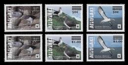 Aitutaki 2019 Mih. 1043/48 Fauna. WWF. Chatham Albatross (overprint) MNH ** - Aitutaki